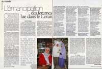 L'émancipation des femmes lue dans le Coran, Questions de Femmes (France), 2003